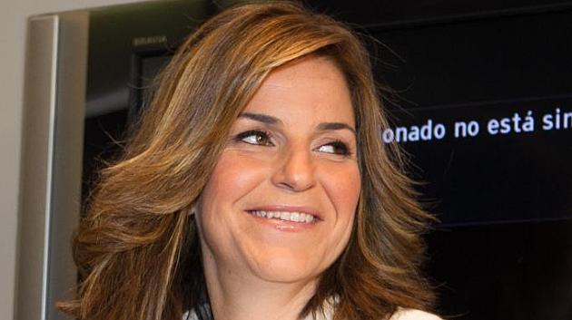 Arantxa Sánchez-Vicario en la Casa del Libro de Barcelona / GERMAN PARGA (MARCA)