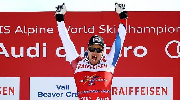Los suizos dominan el descenso, con<br /><br /><br /><br /><br /><br /><br /> oro para Kueng y bronce para Feuz