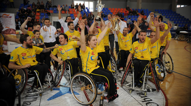 El CD Ilunion, campeón<br /><br /> de la Copa del Rey