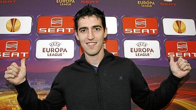 Iraola en las jornadas de puertas abiertas de Bilbao en 2011 / JUAN ECHEVARRIA (MARCA)