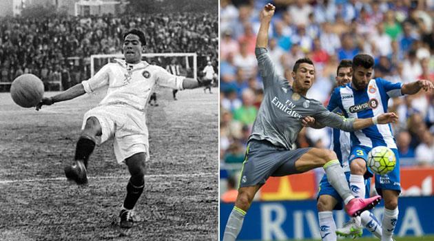 Ronaldo, un goleador de otra época