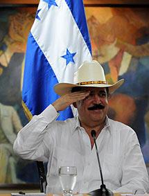 Manuel Zelaya, el pasado viernes. | Afp