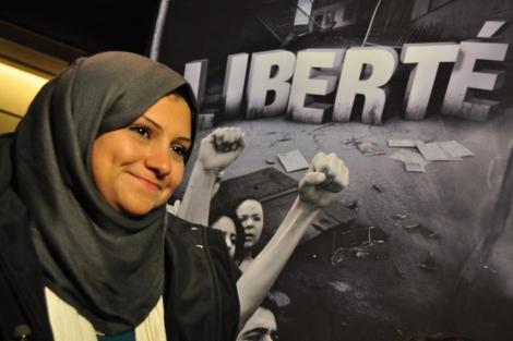 Asma Mahfuz, activista egipcia y una de las galardonadas con el Premio Sajarov. | Pau Palanco
