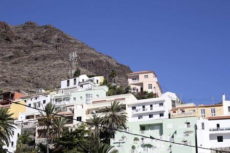 La antena desactivada de Valle Gran Rey, en la Gomera. | Efe