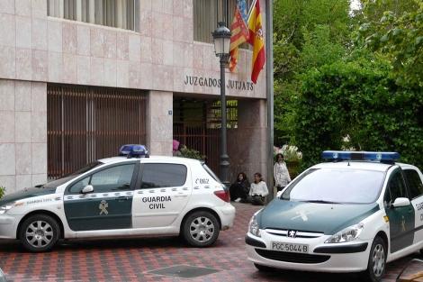 El gerente del bar prestó declaración en los Juzgados de Segorbe. Fotografía ELMUNDO.es