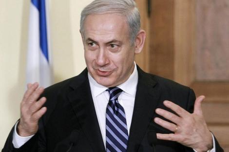 El primer ministro israelí, Benjamin Netanyahu, durante una visita a Nicosia. | Afp