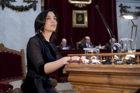 La catedrática de la RAE, Inés Fernández, el año pasado. | Bernando Díaz