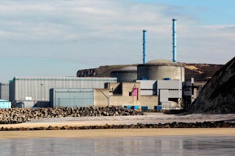 Imagen de la central nuclear de Penly. | Afp