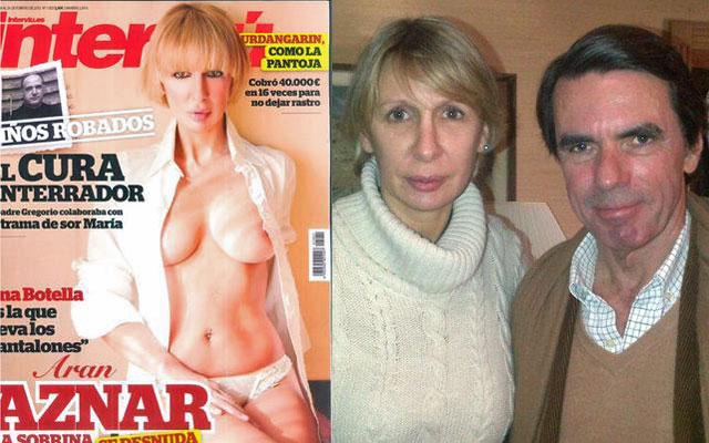 Imagen de la sobrina de Aznar