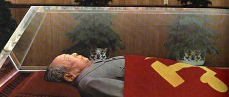 Momia del líder chino Mao Tse-Tung.