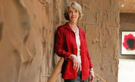 La científica Patricia Churchland en el Caixa Forum de Madrid. | José Ayma