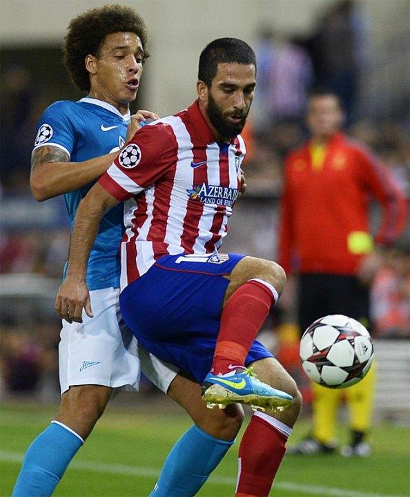 Arda Turan, como siempre, puso las gotas de calidad en el Atlético.