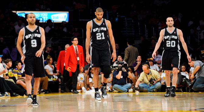 Los tres mejores tríos de la historia de la NBA