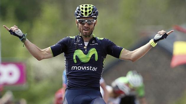Valverde conquista el Muro de Huy