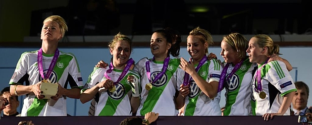 Wolfsburgo se corona como campeón de la Champions femenina
