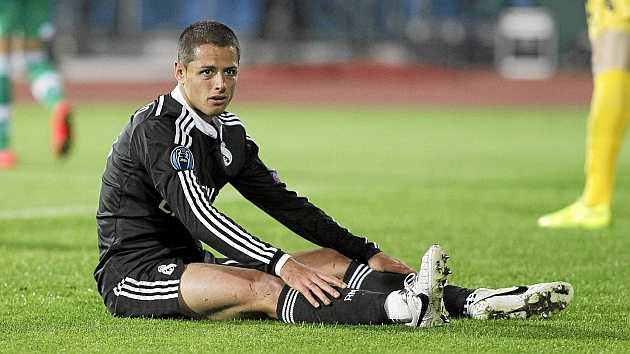 Been a while, Chicharito