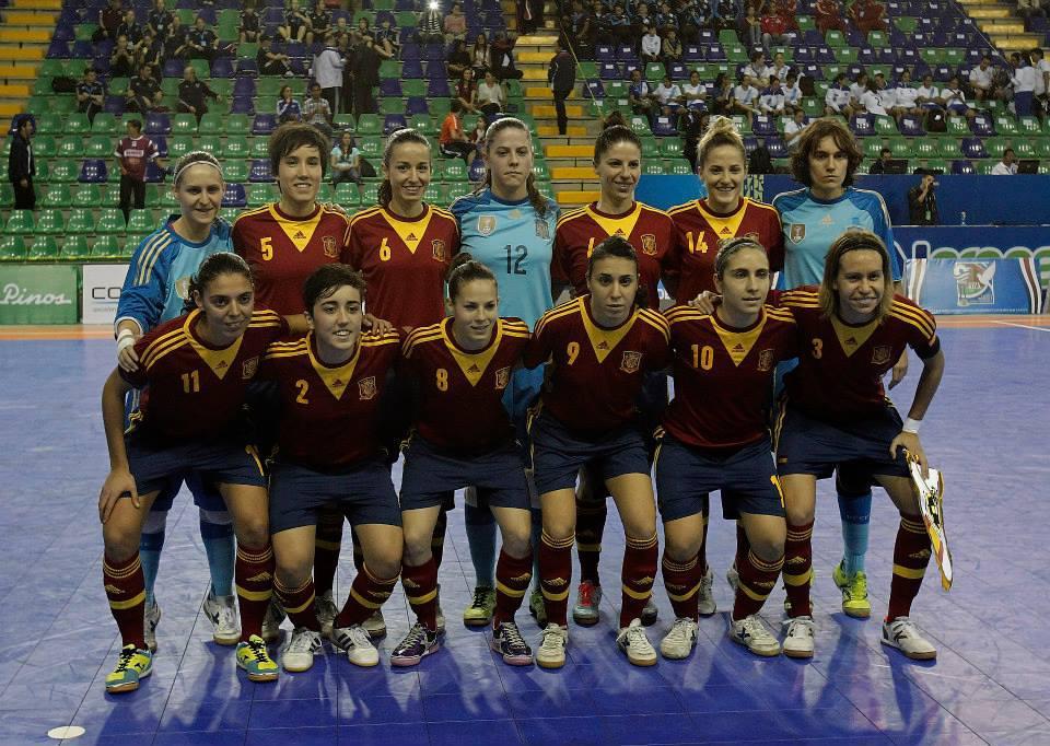 El equipo español de fútbol femenino en el Campeonato del Mundo 2012/ (MARCA)