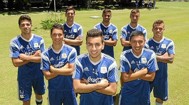Los ocho talentos de Argentina en el Sudamericano sub 20