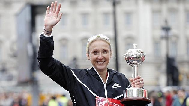 Radcliffe se despide del atletismo con un tiempo de 2.36:55 en Londres