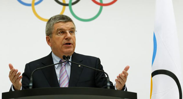 Thomas Bach, presidente del COI / Reuters