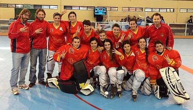 España, bronce en el Mundial femenino de hockey en línea