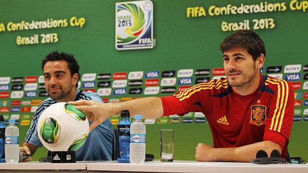 La emotiva carta de Xavi a Casillas: Tranquilo, Luis, está Iker