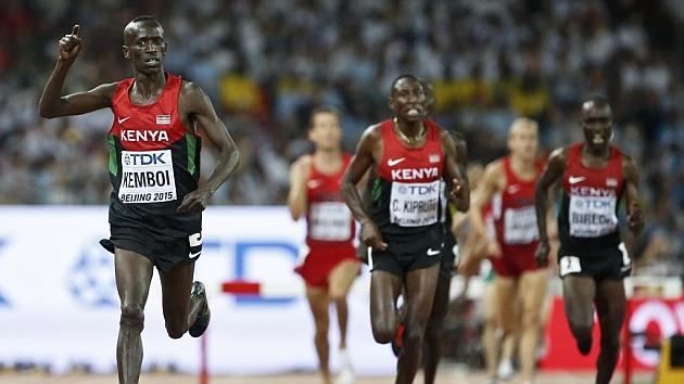 La selección de Kenia es el primero en el casillero de Pekín 2015.
