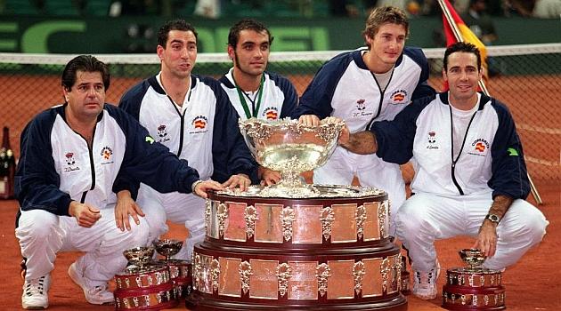 El equipo campeón de la primera Copa Davis