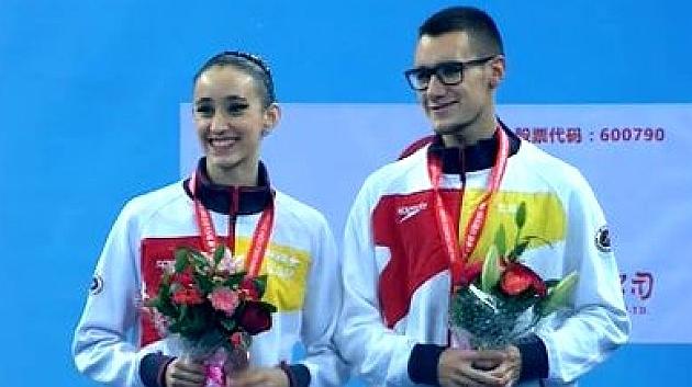 Berta Ferreras y Pau Ribes, bronce en el dúo mixto