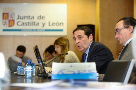 Antonio María Sáez Aguado, consejero de Sanidad de la Junta. Foto: Sacyl