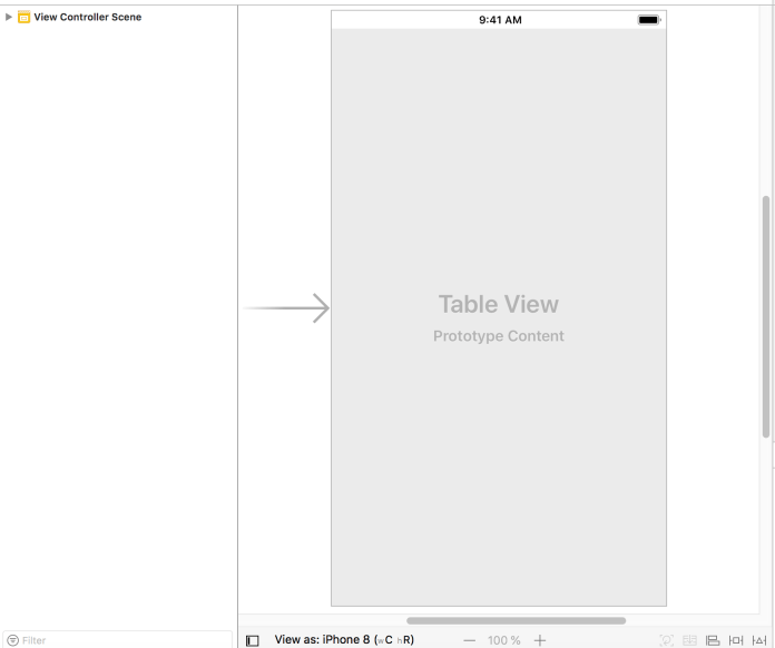 uitableview, xcode, swift ios, ios, esta tuani