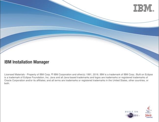 WebSphere Application Server en Windows, IBM Installation Manager