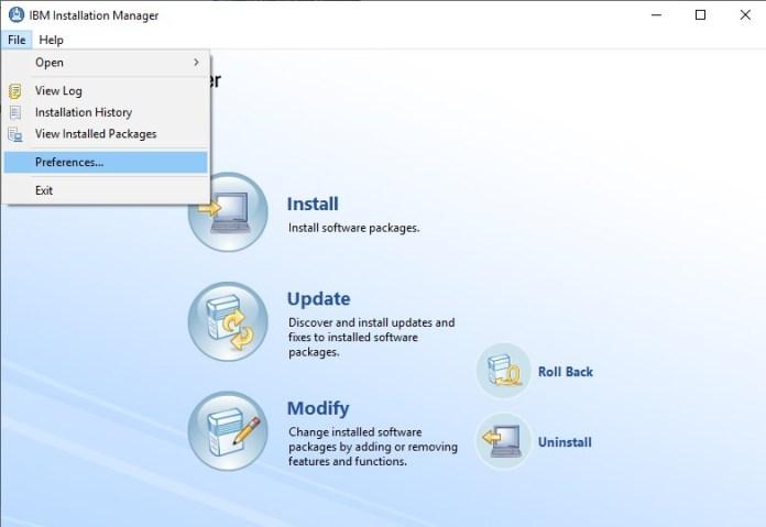 IBM Installation Manager, Esta Tuani