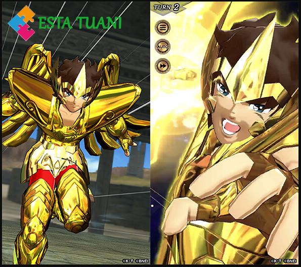 Saint Seiya Shining Soldiers, estatuani,