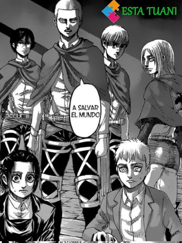 Shingeki no Kyojin capitulo 126, Shingeki no Kyojin manga 127, esta tuani,
