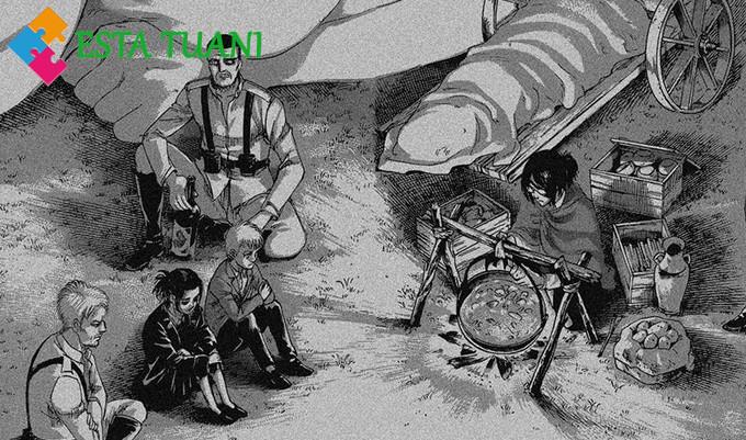 Shingeki no Kyojin manga 127: La Noche del fin