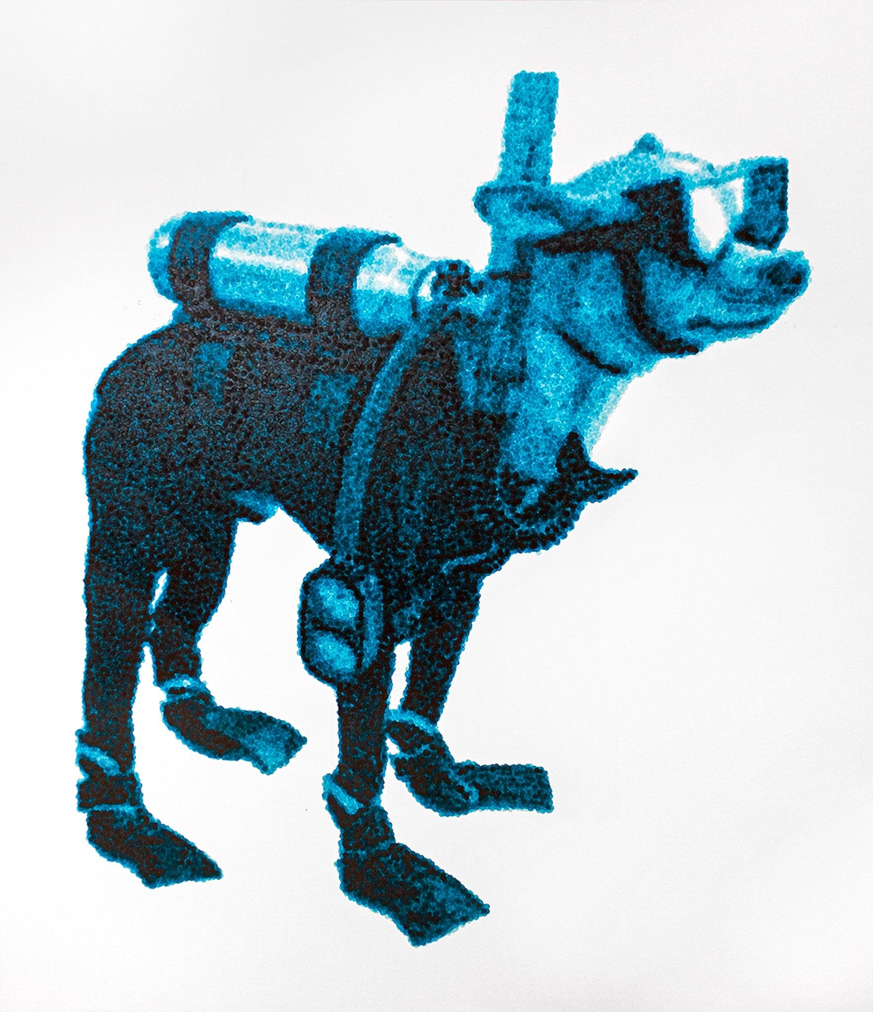 perros esteban peña art