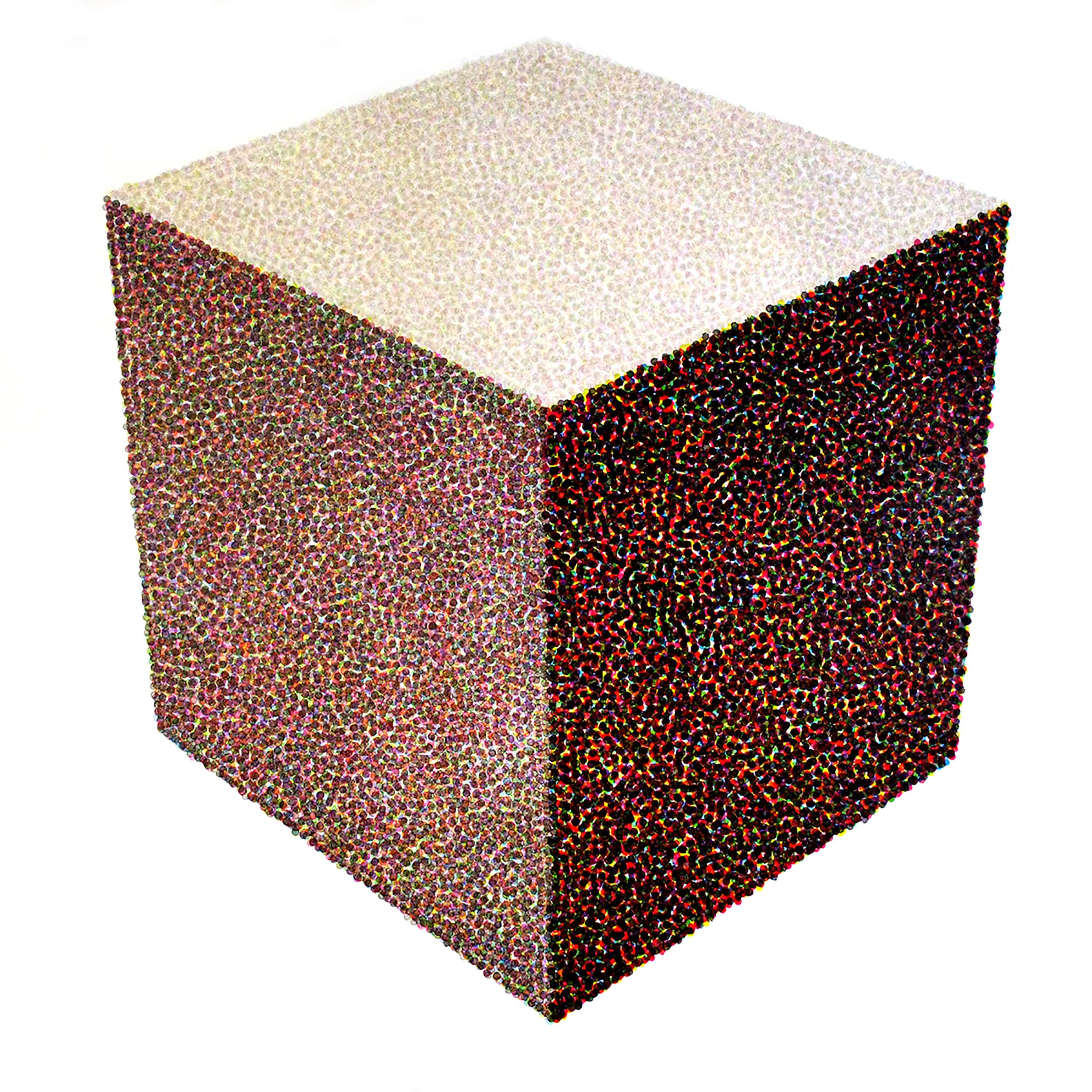 paint cube color esteban peña art
