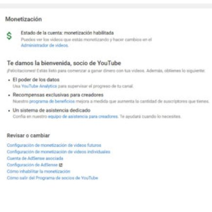 como monetizar mi canal de Youtube
