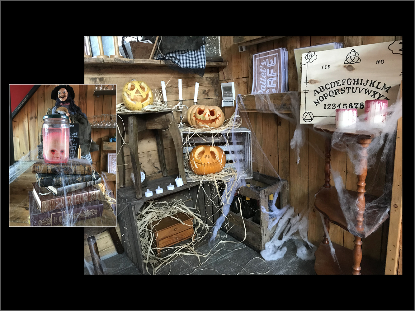 pallets cafe version halloween