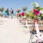 decoration mariage plage