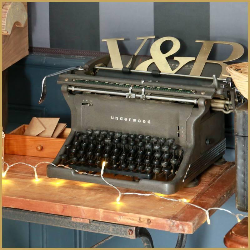 location machine a ecrire vintage Underwood