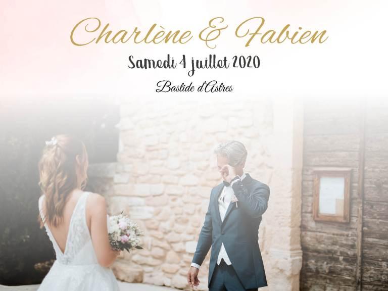 mariage Charlene et Fabien Bastide d'Astre-