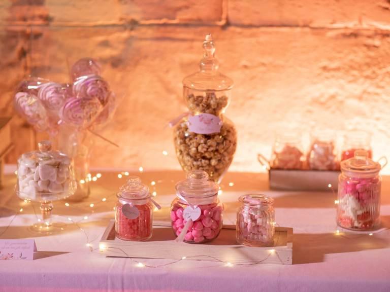 Candy bar mariage Lara et Jean-Michel