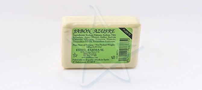 Jabón Azufre y el Acné