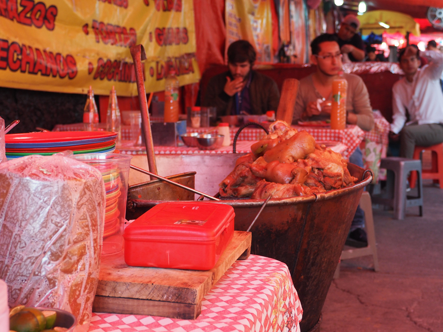 Street food, Mexico D.F