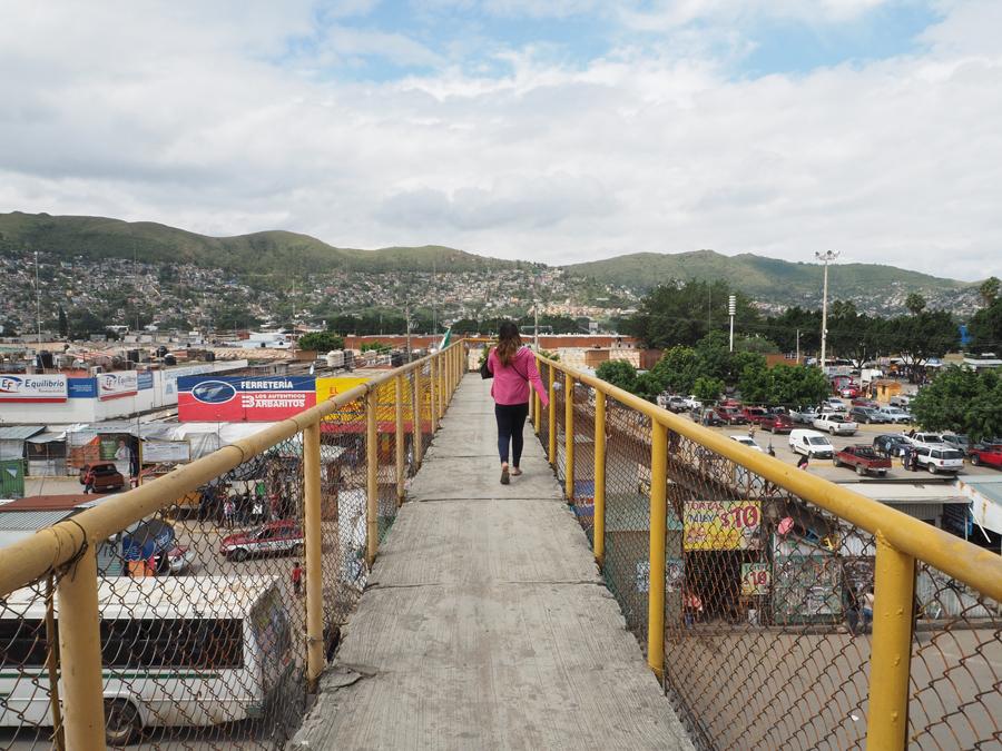 vue sur Oaxaca