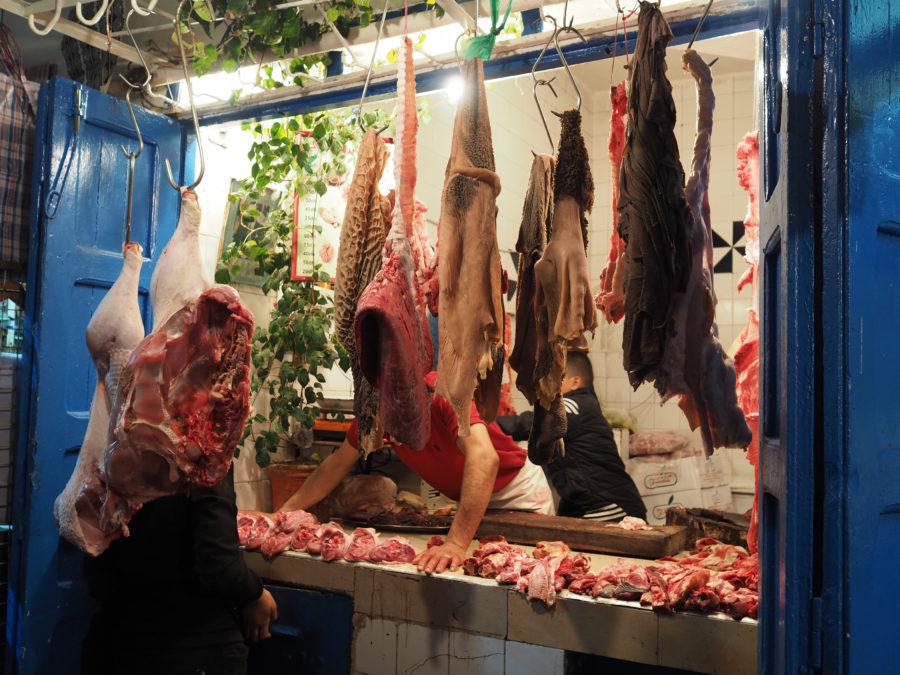 Abats, rue d'Essaouira