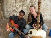 Estelle et Diely Mori au Mali