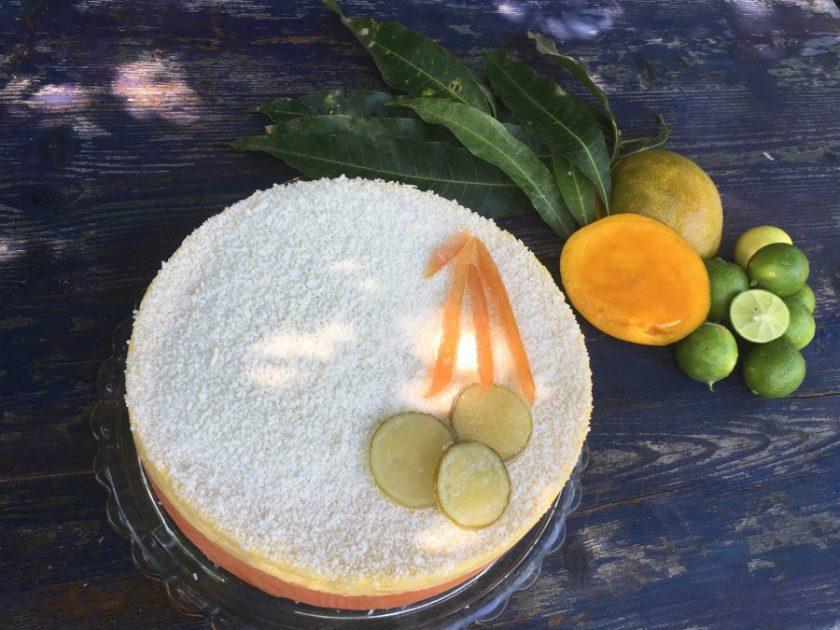 Pastel de Mousse de Frutas